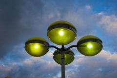 Stock Photo of lamp post