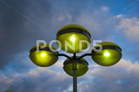 Stock photo of lamp post