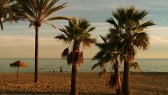 Playa la Rada,Spanish beach, Stock Footage