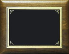 Award plaque - stock photo