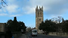 Magdalen College, Oxford University Stock Footage