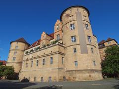 Altes schloss (old castle) stuttgart Stock Photos