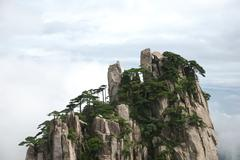 Mount Huang Shan - stock photo