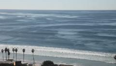 La Jolla shores, San Diego, California, zoom out Stock Footage
