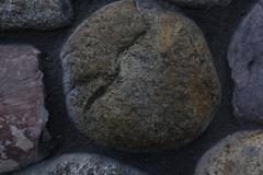 ZB RX100 - Closeup Stone Wall Texture 1 Stock Photos