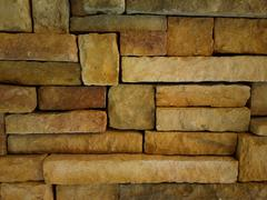 ZB Pureview - Stone Brick Wall Texture 2 - stock photo