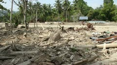 Indonesia Flash Flood Central Sulawesi - stock footage