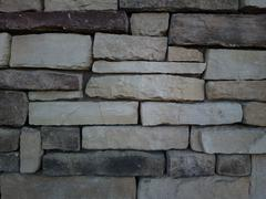 ZB Pureview - Stone Brick Wall Texture 6 Stock Photos