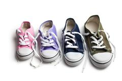 Stock Photo of various sneakers