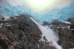 Glacier on alaska Stock Photos