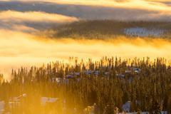 Winter mountains Stock Photos
