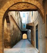 moroccan city - stock photo