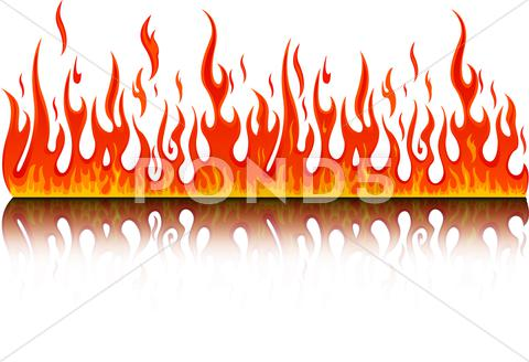 Stock Illustration of fire