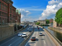 Stock Photo of Transportation in Stockholm