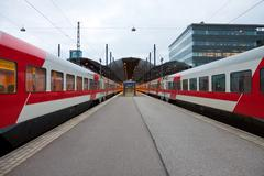 Stock Photo of Central railway station in Helsinki, Finland
