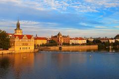 Stock Photo of Evening Prague