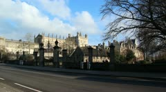 Christ Church College, Oxford University Stock Footage