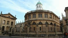 Sheldonian, Oxford University Stock Footage