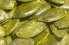 Pumpkin seed Stock Photos
