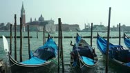 Stock Video Footage of Blue gondolas