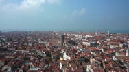 Stock Video Footage of Rooftops in Venice