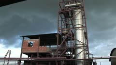 Sugar Processing Plant 2 Stock Footage