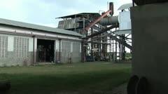Sugar Processing Plant Stock Footage