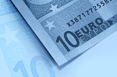 abstract euro money background - stock photo