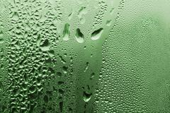 green water drop texture - stock photo