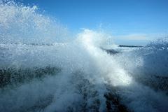 Wake of Boat Kuvituskuvat