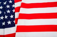 american flag - stock photo