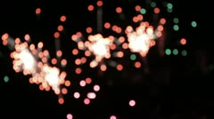 Fireworks 8 Stock Footage