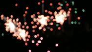 Stock Video Footage of fireworks 8