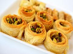 Stock Photo of arabic baklava