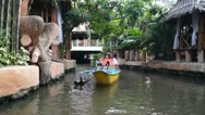 Boat riders Stock Footage