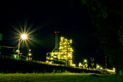 Stock Photo of refinery. russia, yaroslavl