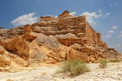 desert of faran - stock photo