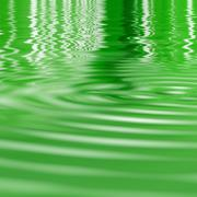 Ripples in the water Stock Illustration