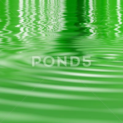 Stock Illustration of ripples in the water
