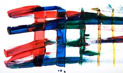 Abstract art hand-painted background Stock Photos