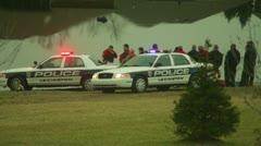 Lexington police situation Stock Footage