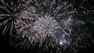 Stock Video Footage of fireworks 23