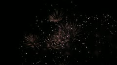 Fireworks 24 Stock Footage