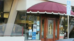 Restaurant Open - stock footage