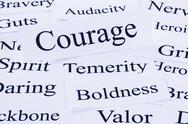 Courage concept Stock Photos