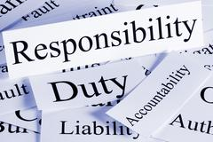 Responsibility concept Stock Photos