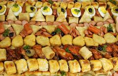 Stock Photo of large party platter close up