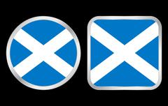 Scotland flag icon Stock Illustration