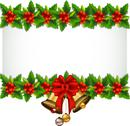 Stock Illustration of beauty Holly Christmas frame