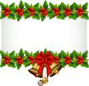 Stock Illustration of beauty Holly Christmas frame